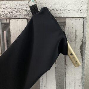 furEx Tasche schwarz reissverschluss