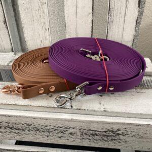 Langzuegel braun violett