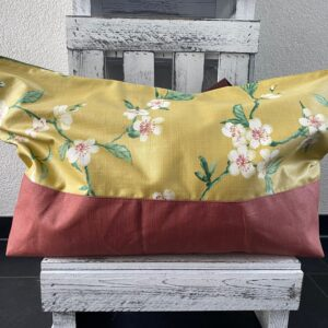 Badetasche gelb Blüten
