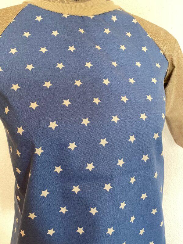 Malschuerze blau sterne