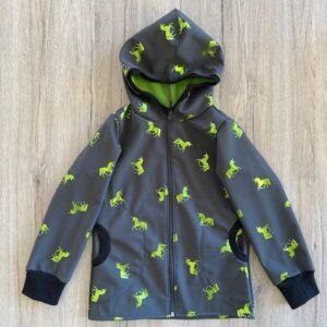 Softshell Jacke Einhorn grün